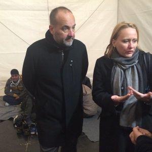 srpski i hrvatski ombud obilaze izbeglice