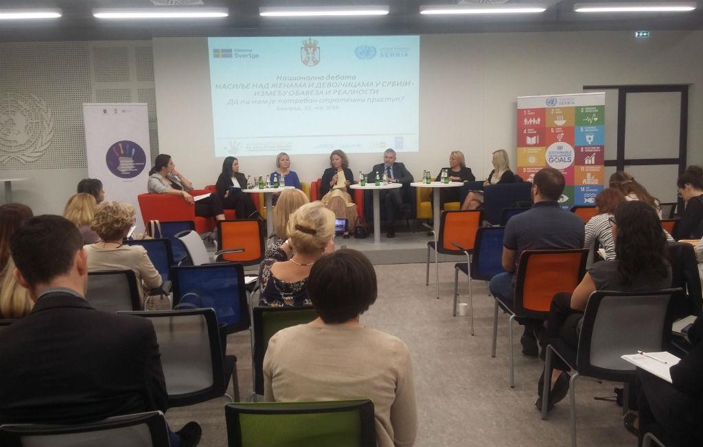 Стевановић на Националној дебати о насиљу над женама и девојчицама